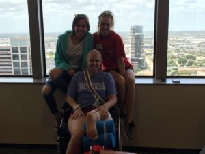 My sarcoma sister Demi and her friend Logann. They were such a blessing 💛